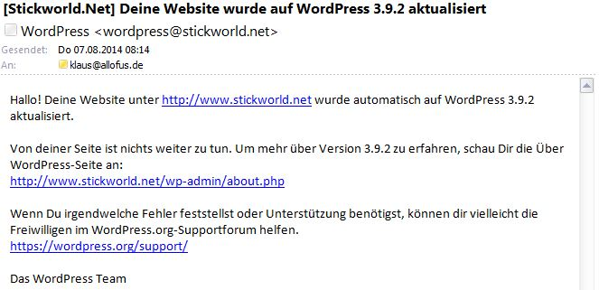 WordPress392Mail