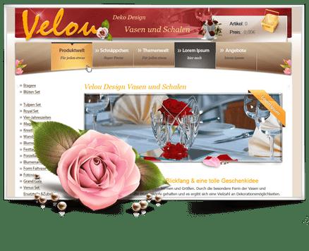 Velou Deko und Design
