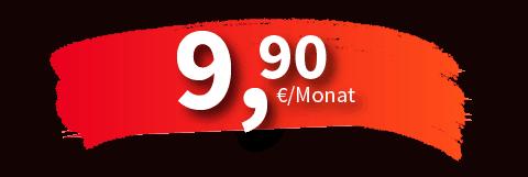 Aktionspreis jetzt schon ab 9,90€ im Monat