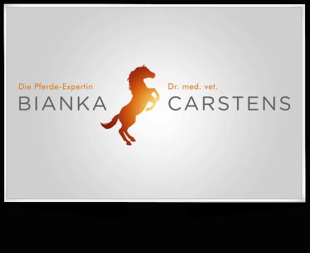 Logo, Visitenkarte und WordPress Webseite - Bianka Carstens