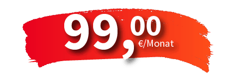 Aktionspreis jetzt schon ab 99,-€ im Monat