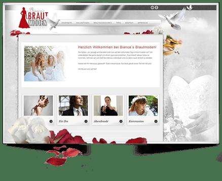 Wordpress Webseite erstellt Biancas Brautmoden