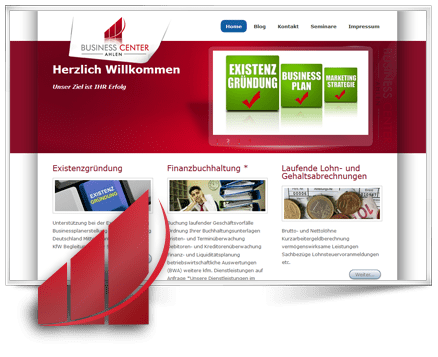 GSL Referenzen Webseite Businesscenter Ahlen