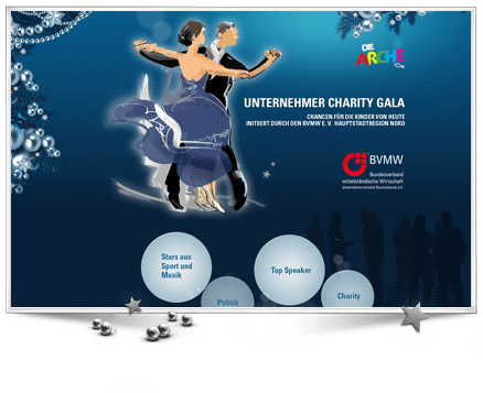 Kostenfreie Arbeiten für die Arche Unternehmer Charity Gala