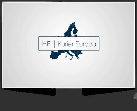 Logo Design für HF Kurier Europa