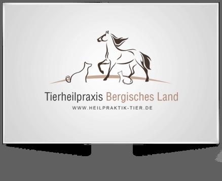 Logo und Homepage Erstellung für die Tierheilpraxis Bergisches Land