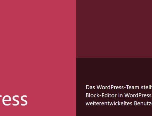 Sicherheitsupdate WordPress 5.3.1 schließt Lücken