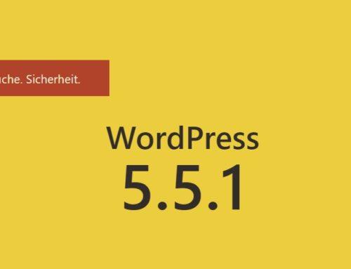 WordPress 5.5.1 beseitigt 44 Fehler