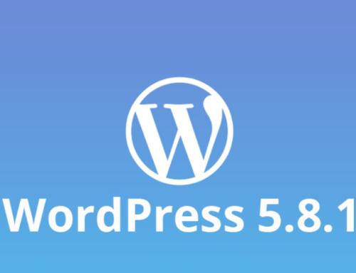 Der Sicherheitspatch WordPress 5.8.1